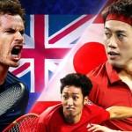 錦織圭 「デビスカップ(国別対抗戦)」日本 対 イギリス~結果&ダイジェスト動画をUP中!~その➀
