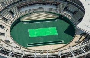 リオデジャネイロ・オリンピック テニス センターコート