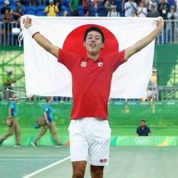 錦織オリンピック 銅メダル