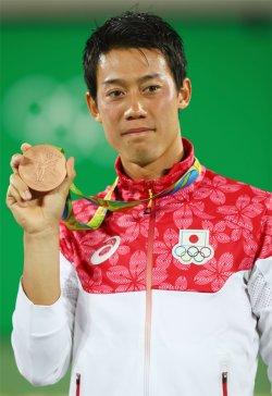 錦織オリンピック 銅メダル獲得!