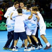 決勝進出のアルゼンチン・チーム