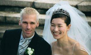 クルム伊達選手 結婚当初