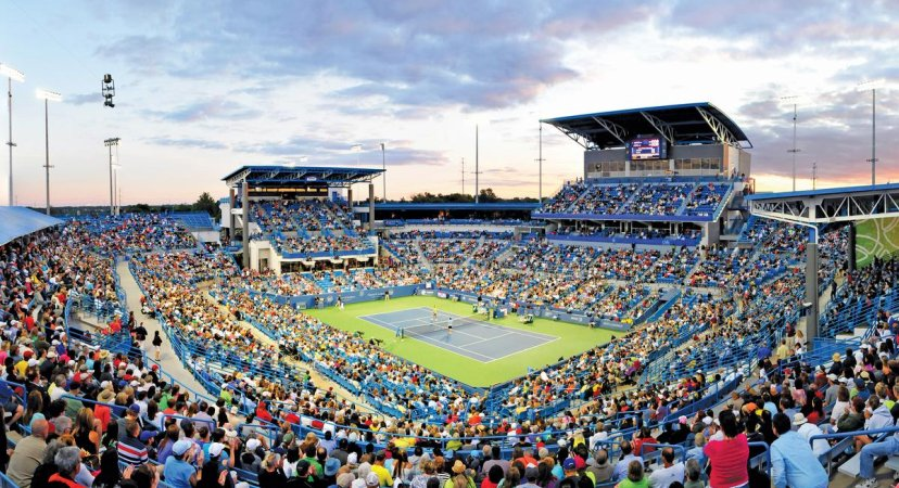 western&southern open tennis 会場イメージ