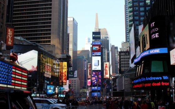 アメリカ ニューヨーク 風景