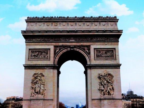 フランス パリ凱旋門